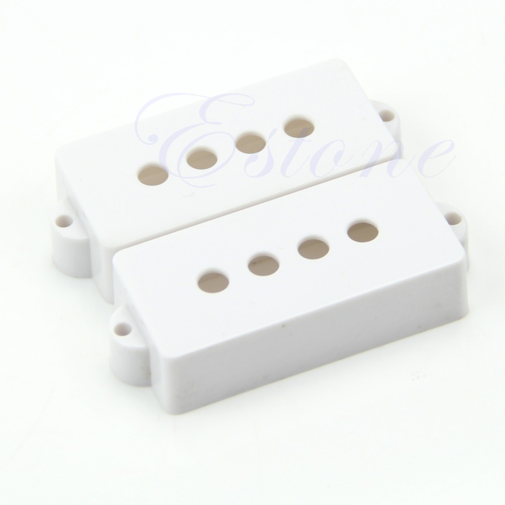 1 Pair Electric Genuine For Precision PB P Bass Pickup Covers 28MM Space