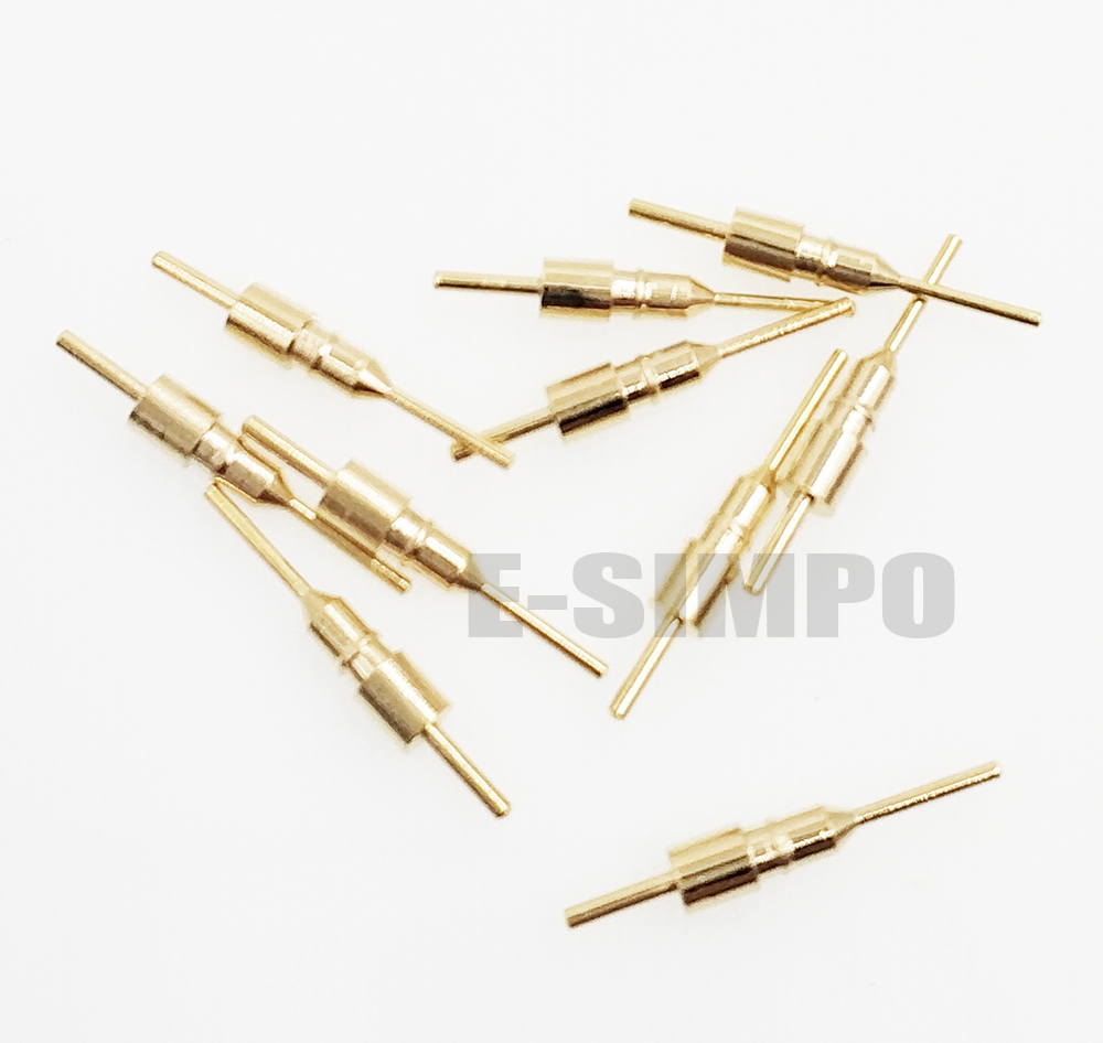 1000pcs Round Pin,female Pin Socket For Pin Dim0.45-0.6mm ,without Plastic For 2.54 Hole Pin Socket