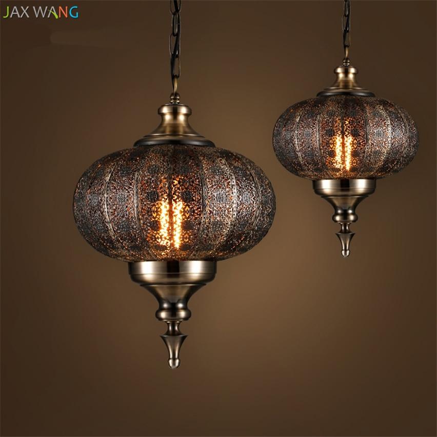 Ceiling Lamp India: JW_India Southeast Asia Balienfe Yi Iron Pendant Lights