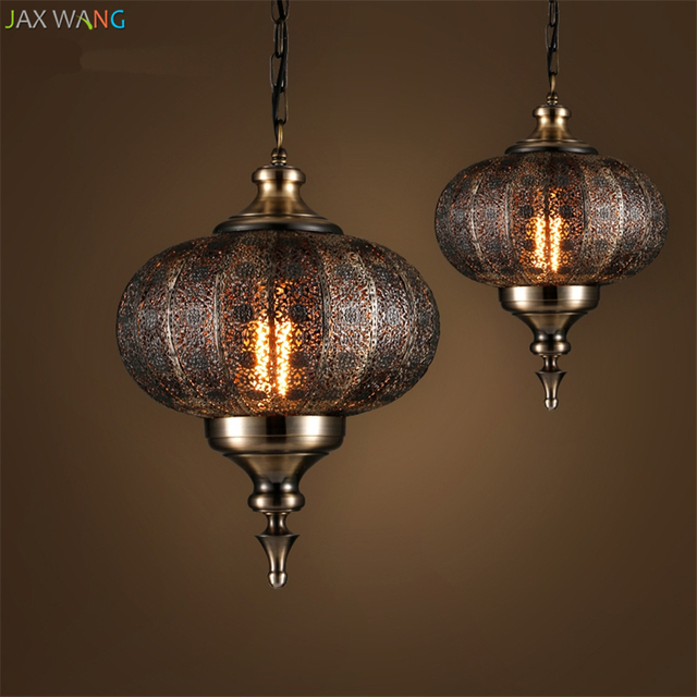 Amazing Us 146 69 19 Off Jw India Southeast Asia Balienfe Yi Iron Pendant Lights Led Carved Hollow Retro Lamps For Dining Room Restaurant Lantern De Lamp In Download Free Architecture Designs Lukepmadebymaigaardcom