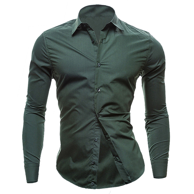 441dc76c2f8f Hot Sales New Mens Shirts Casual Slim Fit Stylish Mens Dress Shirts Men  Fashion Shirts White and Red shirts For Men