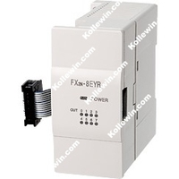 FX Series PLC Extension Module Block FX2N 8EYR, FX2N8EYR 8 Points Output Relay,240VAC Freeshipping NEW in box