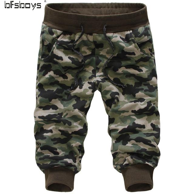 2016 camuflagem calças calças sweatpants 7 minutos de calças com um desconto Europa e América linha grátis