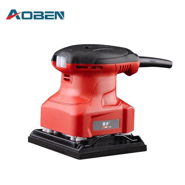 Aoben 240w Electric Flat Belt Sander Mini Taladro Lijadora Woodworking Furniture Sanding Paint Buffing Machine Tools