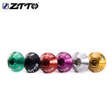 ZTTO клетка для бутылок с водой ультра светильник 7075 AL винты с шестигранной головкой M5* 10 мм болты с цилиндрической головкой
