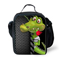 Thermal Bag for Women Men Lunch Bag Portable Lunch Box Animal Alligator Print Lady Children Kids Lunch Bags Insulation Package