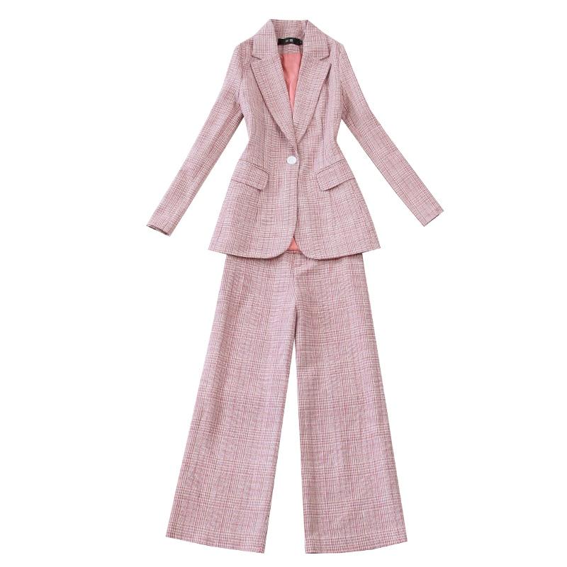 Pièces Ensemble 1 La Nouveau 2019 Tenue Deux Tempérament Costume Tweed Taille Plus Poule Mince Ensembles Femmes De Version Coréenne xtUwUqrYB