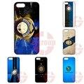 Para a apple iphone 4 4s 5 5c se 6 6 s 7 7 s mais 4.7 5.5 iPod Touch 4 5 6 Coque Logotipo da Inter de Milão