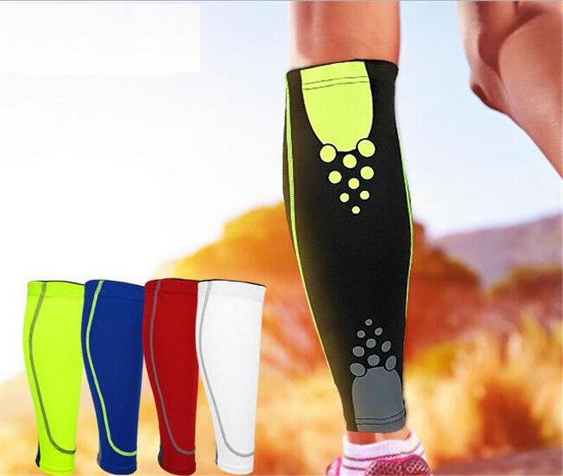 1Pair Men Women Base Layer Compression Leg Sleeve Shin Guard Cycling Leg Warmers Running Football Basketball Sports Calf Support