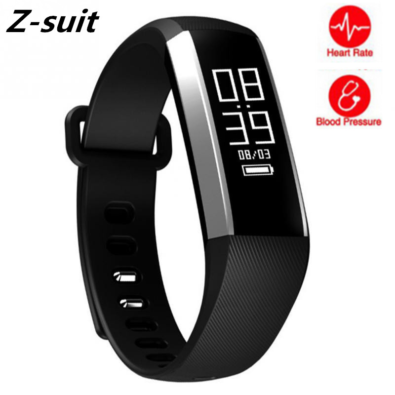 Smart Fitness Bracelet Blood Pressure Blood Oxygen Heart Rate Monitor Wristband Touchpad Sports Smart Bracelet for