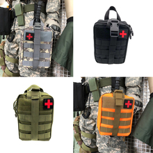 Outdoor Tactical Molle Pouch Multifunctional Waist Pack Molle Survival Kits First Aid Kit Molle Pouch Tactical Medical Bag цены