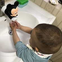 Faucet Extender Cartoon Sink Handle Extension Toddler Kid Bathroom Children Hand Wash Tools of The Water Trough X