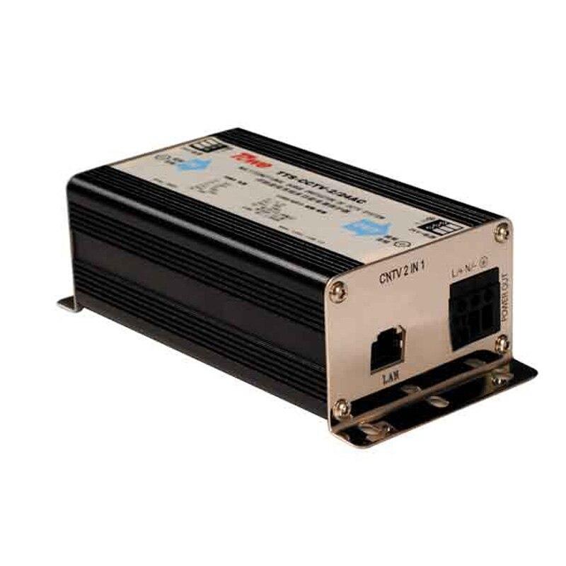 TOWE AP CNTV 2/220AC защищает сеть камеры/мощность 220VAC мощность 2 в 1 молниезащита