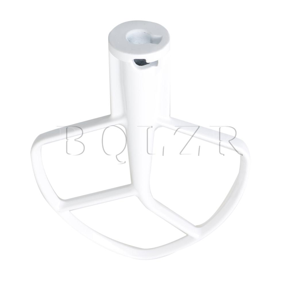 BQLZR K5AB K5SS Coated Flat Beater Blade for KitchenAid Stand Mixer Replace 9707670 W10807813 PS983355