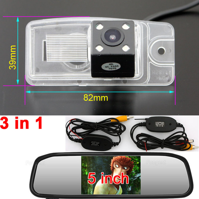 Vehicle Back up Off Vision Rear View Reverse Parking Wireless Automobile Monitors Camera For Nissan X-Trail X Trail Xtrail T32
