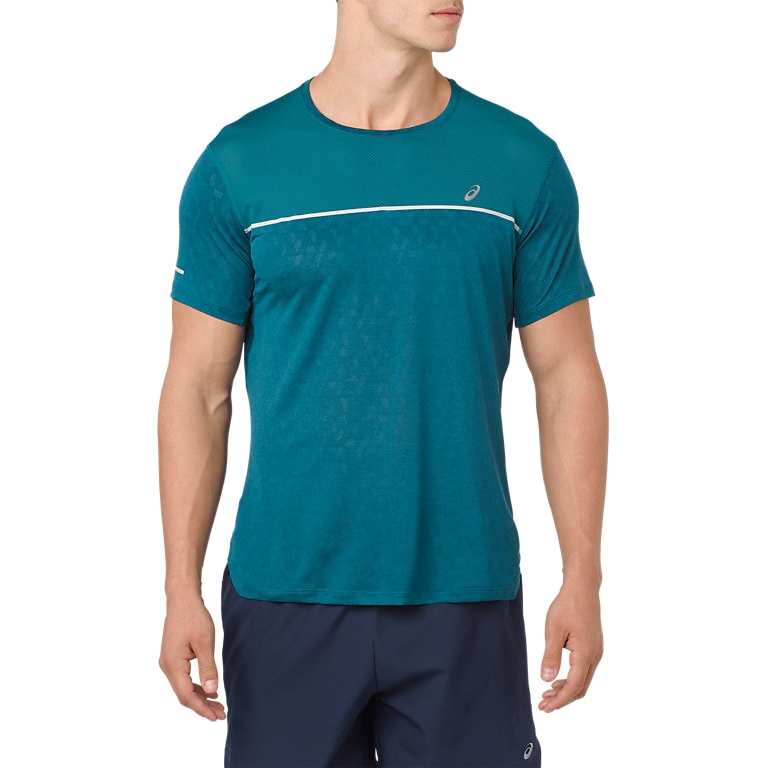 T Shirt men ASICS GEL-COOL SS TOP asics asics graphic top ss