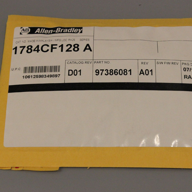 1784-CF128 1784CF128 Allen-Bradley,NEW AND ORIGINAL,FACTORY SEALED,HAVE IN STOCK allen bradley 1762 ow16 new and original factory sealed have in stock