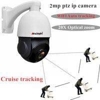 H.265 PTZ Camera IP 20X Zoom Camera Speed Dome Network Starlight 1080P Auto Tracking PTZ IP CameraSecurity camera IP
