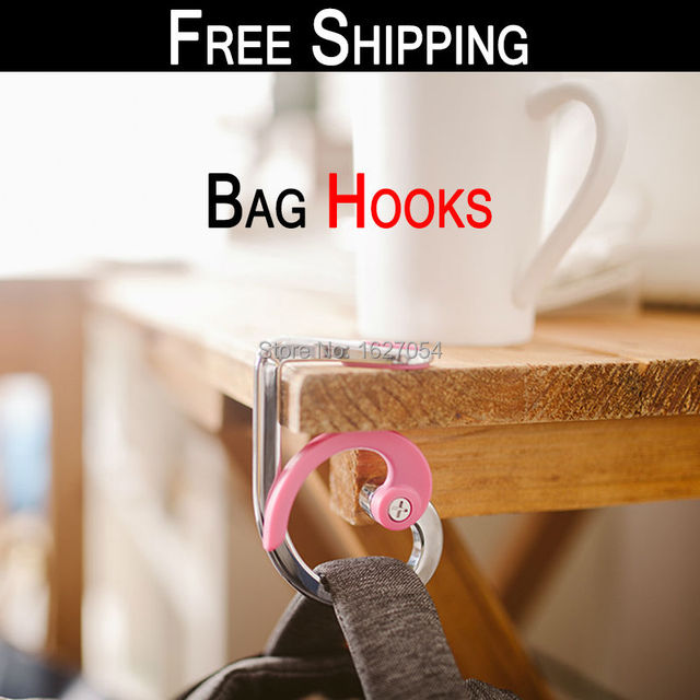 Free Shipping!safe Stayput Bagholder Folded Handbag Tote Tables Hook Hanger  Holder Handbag Purse Hangers