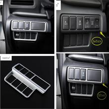 Lapetus Accessories Fit For Mitsubishi Eclipse Cross 2018 2019 Head Lights Lamp Switch Button Frame Molding Cover Kit Trim / ABS lapetus accessories for toyota camry 2018 2019 matte carbon fiber abs front head light switches button molding cover kit trim