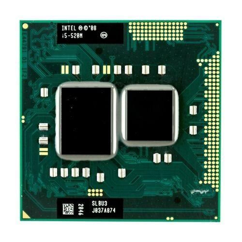 Intel core i5 520m 2.4GHz 3M Socket G1 Laptop Processor CPU SLBU3 SLBNB(China)