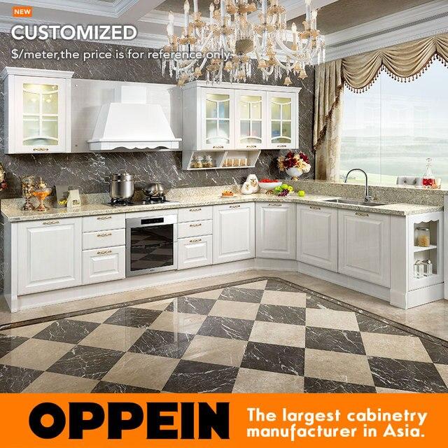 2015 nouveau Design Design MDF armoires de cuisine PVC cuisines ...