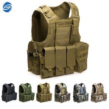 Unloading Camouflage Tactical Multi-pocket Classic Waistcoat For Men Male Sleeveless Solid Coat Combat Vest Masculino Jackets