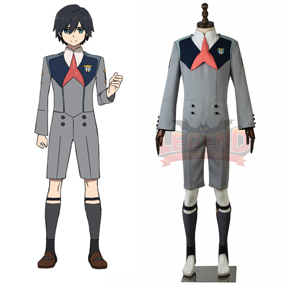DARLING in the FRANXX CODE:016 HIRO Cosplay Costume adult custom made all size
