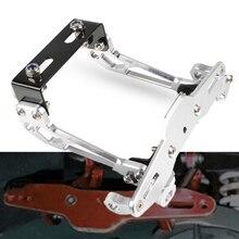 Для YAMAHA XMAX X-MAX 125 250 400 NMAX 125 155 WR 125 250 R/X Универсальный CNC мотоцикл номерной знак рамка держатель кронштейн