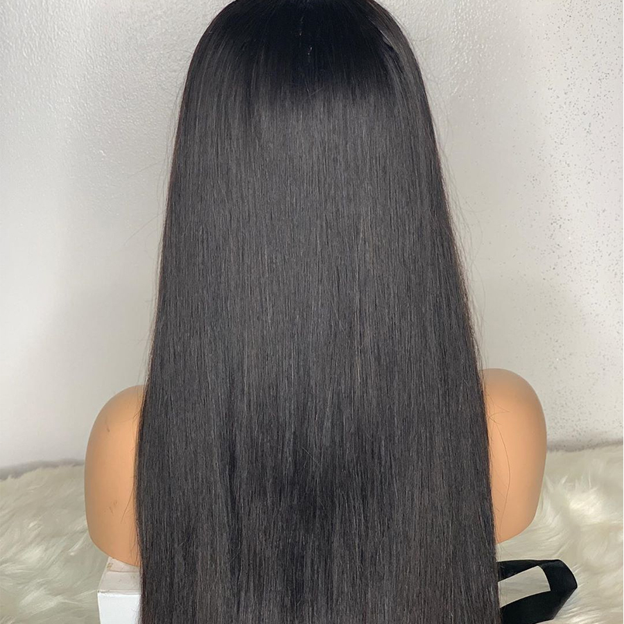 Image 3 - Rosabeauty 30 32 inch Long glueless 13x6 Lace Front Human Hair Wigs pre plucked Brazilian Straight Frontal Wig For Black Women-in Human Hair Lace Wigs from Hair Extensions & Wigs