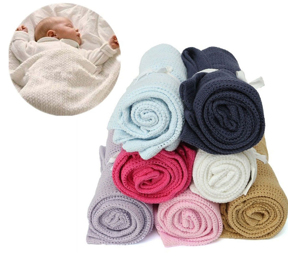 Crochet Pattern For Swaddle Blanket : Crocheted Baby Blanket Reviews - Online Shopping Crocheted ...