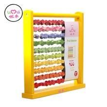 [Umu] Learning & Education Wooden Toys Fruit Abacus Wooden Toys For Children Kids Educational Toy