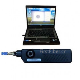 FirstFiber FF-800AP Fiber Optic Microscope/ Inspector USB Version With Pass/ Fail PC Software