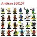 Decool ninjagoed cole jay kai lloyd nya skylor zane pythor chen compatible con legoe bloques de construcción de ladrillos de juguete