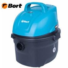 Пылесос для сухой и влажной уборки Bort BSS-1008 (Вместимость пылесборника 8л,  сила всасывания 200Bт, функция выдува и сбора жидкости)