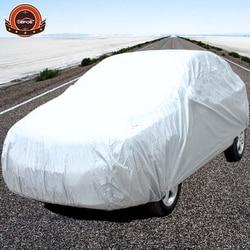 رخيصة الثمن غطاء سيارة PEVA المواد داخلي في الهواء الطلق كامل غطاء سيارة الشمس فوق البنفسجية سنو الغبار المطر حماية مقاومة شحن مجاني