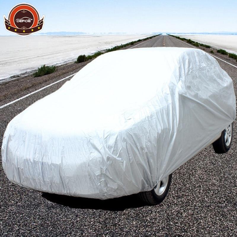 billigt pris bilöverdrag PEVA-material Inomhus Utomhus Fullt bilöverdrag Sol UV Snö Damm Regnbeständigt skydd Gratis frakt