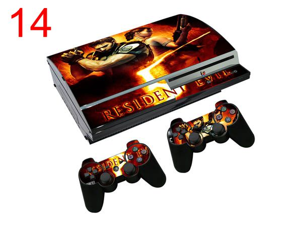 OSTSTICKER Play Games Sticker For Sony Playstation 3 Fat Skins For PS3 Console & 2 Controller Pads