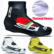 Winter/invierno Fleece Thermal Bicycle Cycling Overshoes MTB Bike Cycling Shoes Cover Sports ShoeCover Pro Road Racing Women/Man