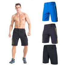 TOMSHOO Mens Baggy Cycling Shorts Breathable Loose-Fit Outdoor Sports MTB Running