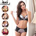 2016 Lace Bralette Women's Bras Plus Size Bra Underwear Set Sexy Lingerie Push-up Bra Bustier Uplift bras for Women Cropped Top
