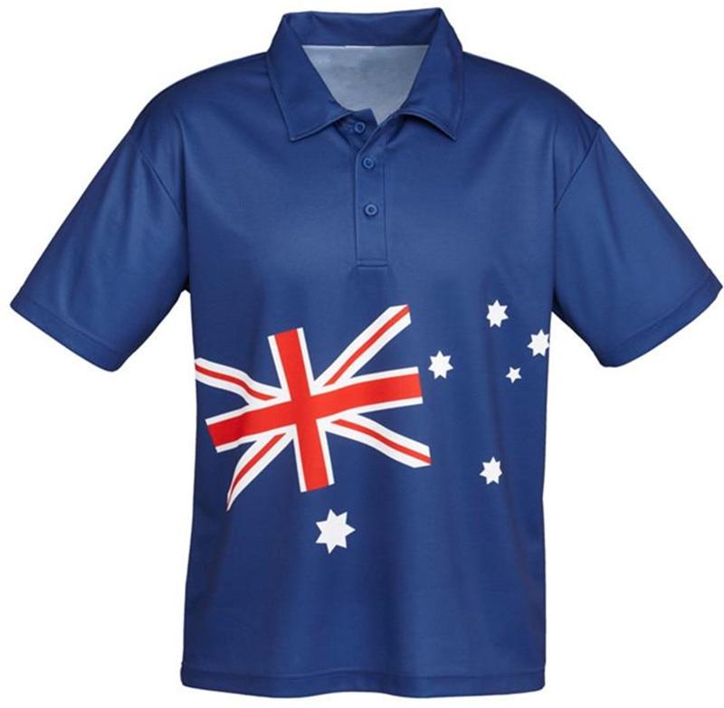 Full Dye Digital Sublimation Printed Polo Shirts Wholesale Custom