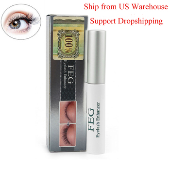 US Stock Herbal Eyelash Growth Treatments Liquid Serum Enhancer Mascara Eye Lash lengthening Thicker Curling Eye Makeup Tools