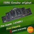 """Бесплатная доставка A1494 Оригинальный Аккумулятор Для Ноутбука APPLE MacBook Pro 15 """"Retina Display A1398 Конце 2013 & Mid 2014 ME293 ME294"""