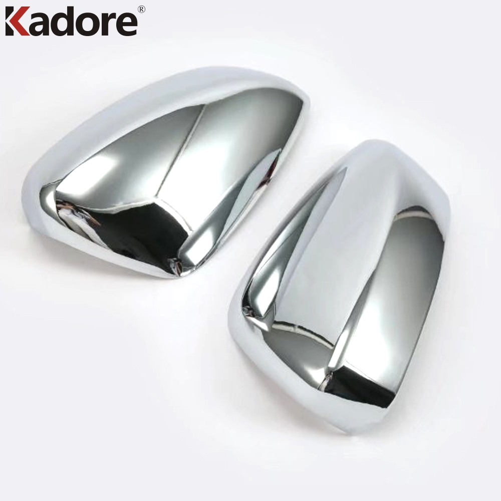Exterior Accessories For Mazda 3 M3 Axela 2017 2018 Rearview Outer Mirror Cover Molding Trim ABS Chrome Door Side Mirror Covers