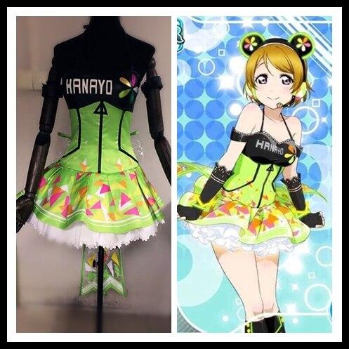 Image 3 - Amor ao vivo cyber idolatrado empregada led jogo de jogos  despertar todos os membros minami kotori uniformes cosplay traje    -