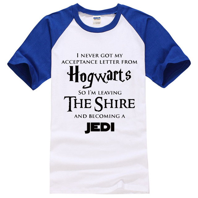"""Hogwarts The Shire"" Star War T-Shirts – 5 Colours"
