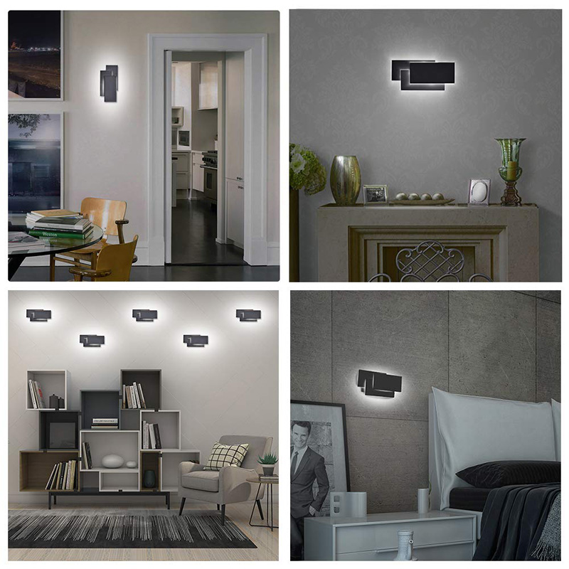 HTB1trxZdW5s3KVjSZFNq6AD3FXae - 12W LED Wall Sconces Lighting Interior Wall Lamp Contemporary Mounted Lamp With Aluminum Shell for Indoor Bedroom Hot Light