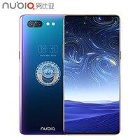 Оригинальный мобильный телефон Nubia X 6,26 дюймов 8 Гб ОЗУ 512 Гб ПЗУ Snapdragon 845 Octa core Android 8,1 Dual camera 3800 мАч смартфон