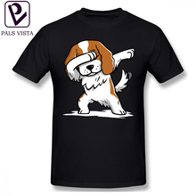Cavalier King Charles Spaniel T Shirt Dabbing Funny T-Shirt Short-Sleeve Classic Tee Oversized Casual Tshirt